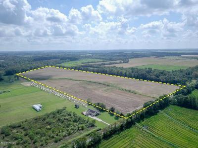 St Landry Parish Residential Lots & Land For Sale: 285 Wayne Rd (Near Address)