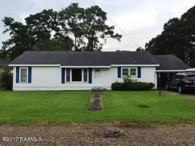 Eunice Single Family Home For Sale: 730 Reed Avenue
