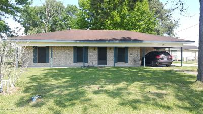 Duson LA Single Family Home For Sale: $117,000