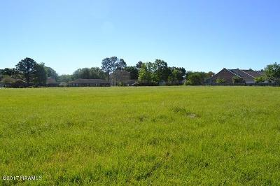 New Iberia Residential Lots & Land For Sale: Rue De Onetta