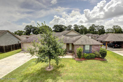 Carencro Single Family Home For Sale: 207 Ennis Drive