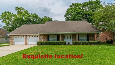 Carencro Single Family Home For Sale: 205 Rue Bordeaux