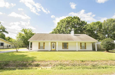 Carencro Single Family Home For Sale: 124 Welch Road