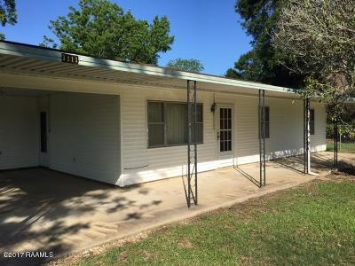 Opelousas Single Family Home For Sale: 3111 Hwy 167