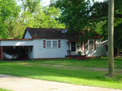 Opelousas Single Family Home For Sale: 1437 Attakapas