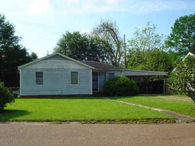 Opelousas Single Family Home For Sale: 418 Natchez Boulevard