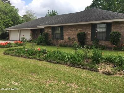 Opelousas Single Family Home For Sale: 108 Kenneth Boagni Sr Drive