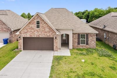 Carencro Single Family Home For Sale: 608 Magnolia Knee Drive