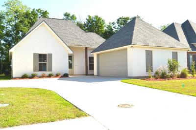 Woodlands Of Acadiana Single Family Home For Sale: 119 Olivewood Drive