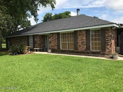 Carencro LA Single Family Home For Sale: $249,900