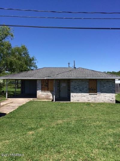 Gueydan Single Family Home For Sale: 111 Primeaux Street