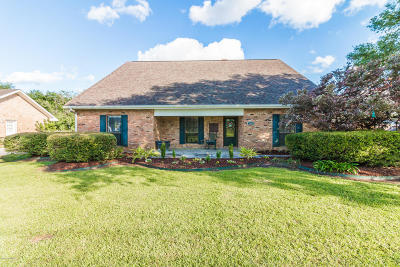 Breaux Bridge Single Family Home For Sale: 1604 E Bridge Street