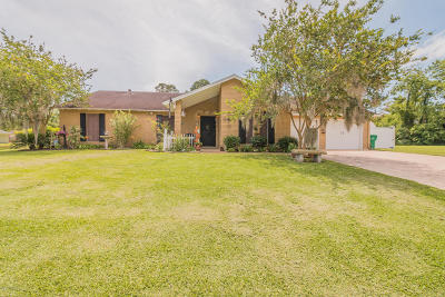 Crowley Single Family Home For Sale: 1 West Bayou Court