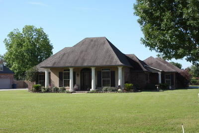 Carencro Single Family Home For Sale: 107 Legend Lane