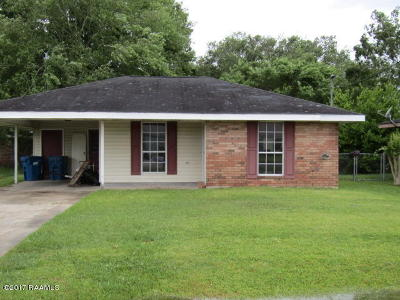 Carencro Single Family Home For Sale: 404 Auburn