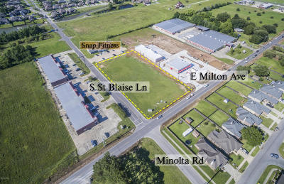 Commercial Lots & Land For Sale: 2500 Blk E. Milton Avenue