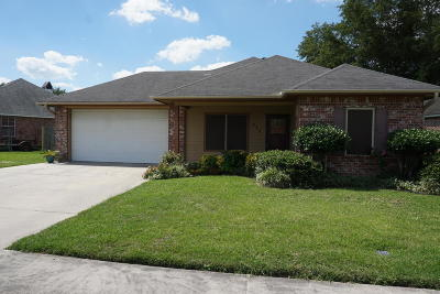 Carencro Single Family Home For Sale: 211 Rue Pacannier