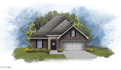 Duson Single Family Home For Sale: 106 Hunters Hill Drive