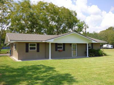 Breaux Bridge Single Family Home For Sale: 1329-B Grand Anse Hwy