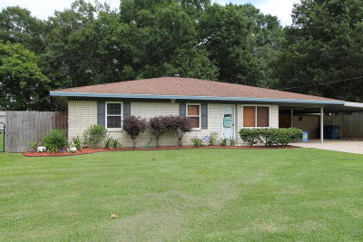Carencro Single Family Home For Sale: 108 Philomine Road