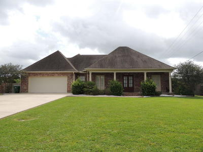 Breaux Bridge Single Family Home For Sale: 1004 Oak Lake Drive