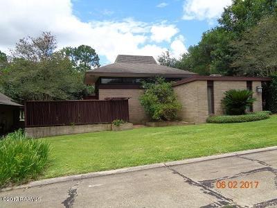 Iberia Parish Single Family Home For Sale: 103 Live Oak Drive