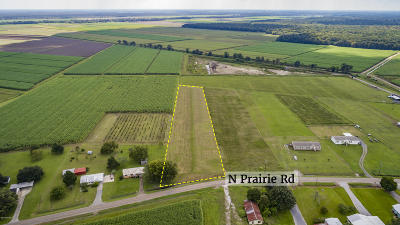 St Mary Parish Farm For Sale: 661 N Prairie Road
