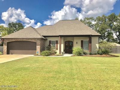 Breaux Bridge Single Family Home For Sale: 1038 Gloria Kern Drive