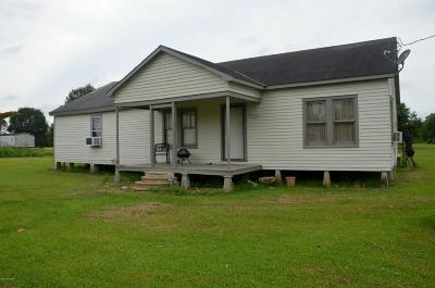 Erath Single Family Home For Sale: 16034 La Hwy 685