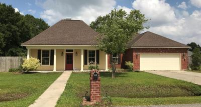Carencro Single Family Home For Sale: 400 Deer Valley Lane
