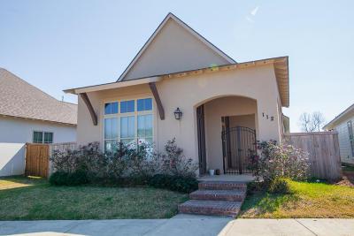 Lafayette Single Family Home For Sale: 112 La Serre Lane