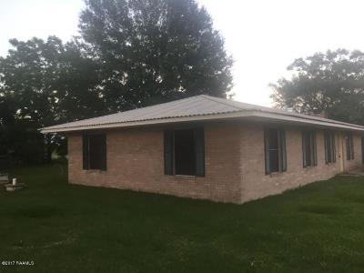 St. Martinville Single Family Home For Sale: 1295 Coteau Holmes Hwy