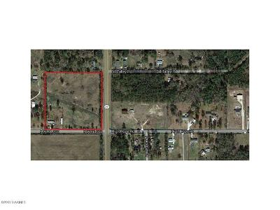 Calcasieu Parish Farm For Sale: Hwy 27