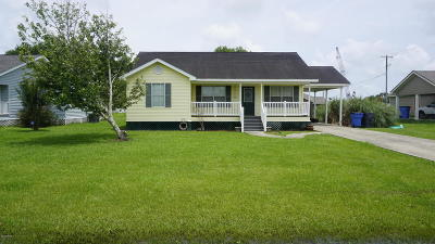 Jeanerette Single Family Home For Sale: 110 Caribbean Dr.