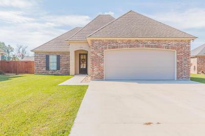 Breaux Bridge Single Family Home For Sale: 1005 Renella Simon Drive