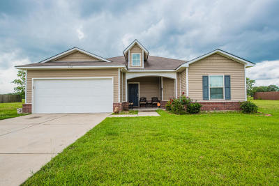 Carencro Single Family Home For Sale: 124 Coles Creek Drive