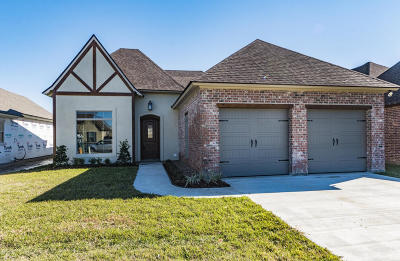 Broussard Single Family Home For Sale: 307 Channel Drive