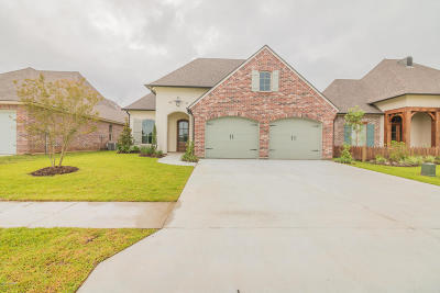 Broussard Single Family Home For Sale: 507 Channel