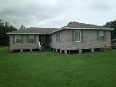 Carencro Single Family Home For Sale: 2553 W Gloria Switch Road #V