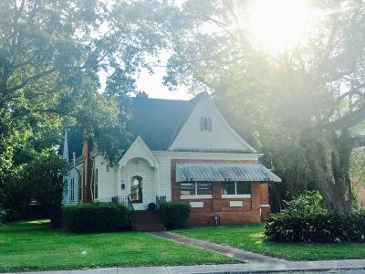 Jeanerette Single Family Home For Sale: 1520 W Main Street