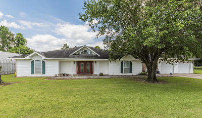St Martinville, Breaux Bridge, Abbeville Single Family Home For Sale: 15113 Clairville Drive