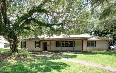 New Iberia Single Family Home For Sale: 108 Myrtle Oak Drive
