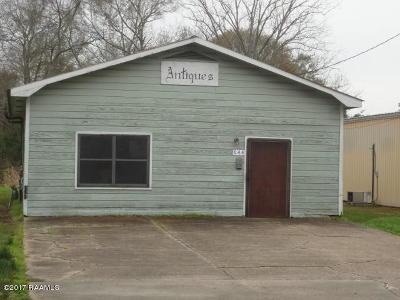 Evangeline Parish Commercial For Sale: 644 W Lasalle Street