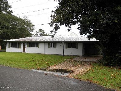 Breaux Bridge Single Family Home For Sale: 201 Voorhies Street