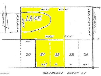 Cameron Parish Residential Lots & Land For Sale: Tbd Gulfway 2.5 Acres