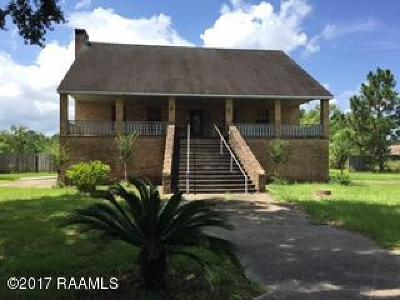 St Martinville, Breaux Bridge, Abbeville Single Family Home For Sale: 3318 Veterans Memorial Drive
