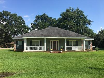 Port Barre Single Family Home For Sale: 183 Frankie Wyble Street
