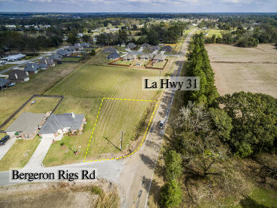 St Martin Parish Residential Lots & Land For Sale: Tbd Bergeron Rigs Road
