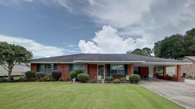 Erath Single Family Home For Sale: 704 Beau Chene