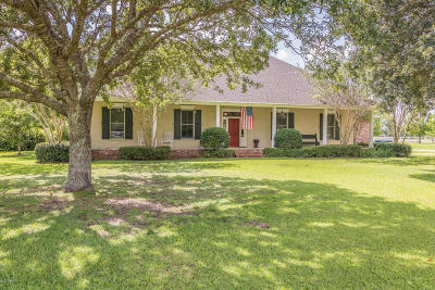 Carencro Single Family Home For Sale: 2225 Beau Bassin Road